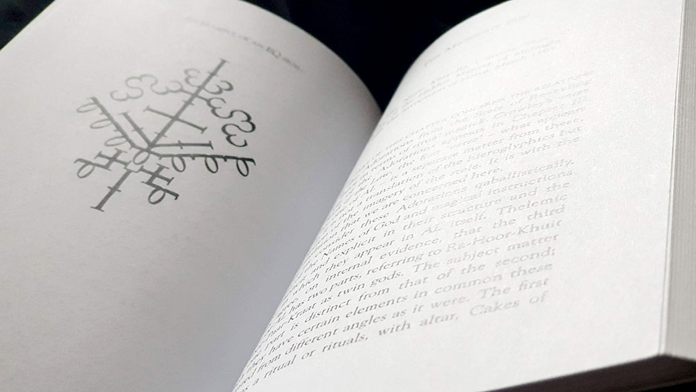 A page spread from The Serpent Tongue