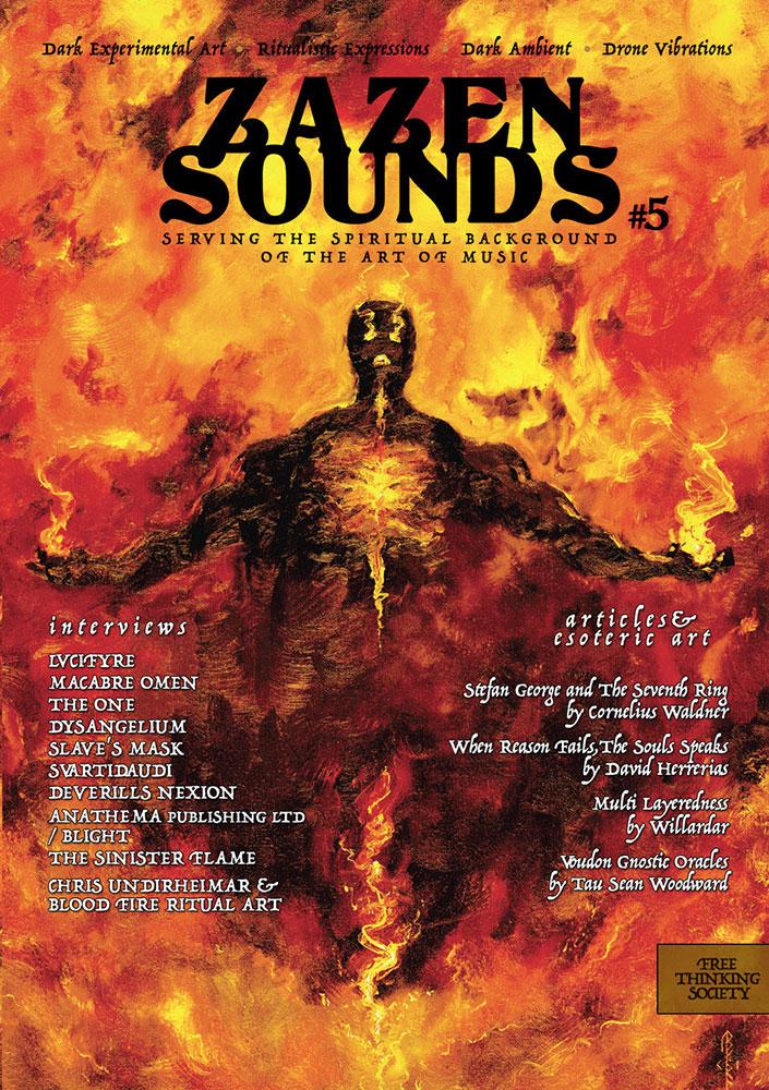 Zazen Sounds #5 cover