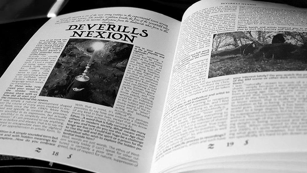 Zazen Sounds #5, Deverills Nexion spread