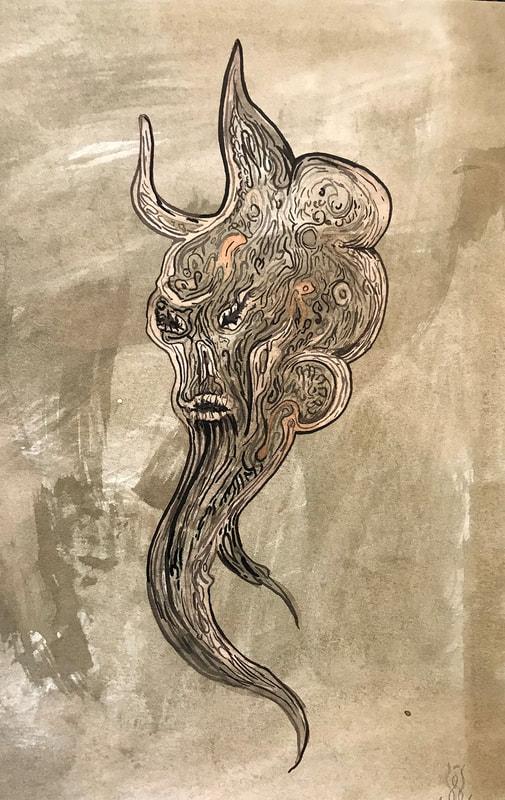 Daniel Schulke: Ink Daimon: Tannins