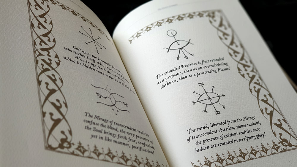 Sigils and texts from the Desert Grimoire