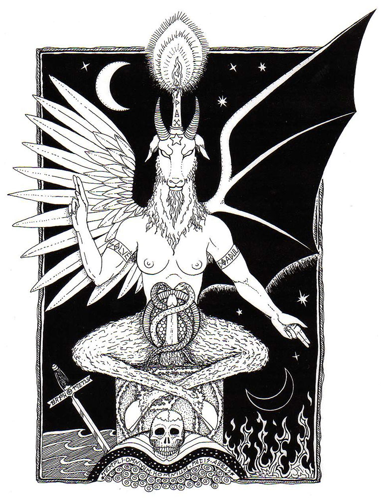 Baphomet by Jane Estelle Trombley