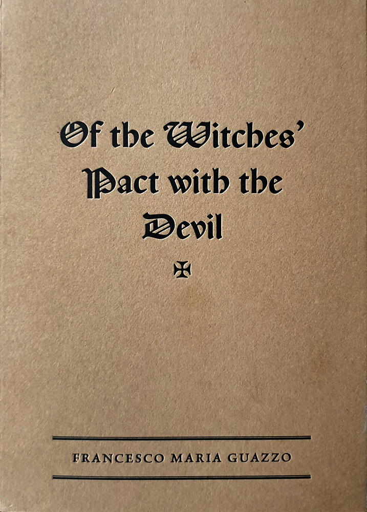 Of the Witches' Pact with the Devil cover
