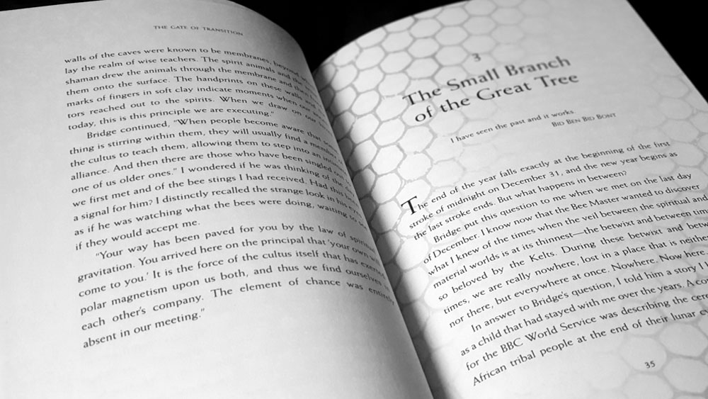 Spread with chapter title