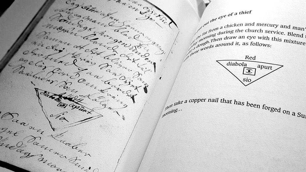 The Black Books of Elverum spread